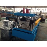 China Steel Roof Ridge Cap Roll Forming Machine Press Step Type Mobile Protective Mesh on sale