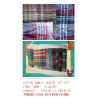 Buy cheap cotton yarn dyed shirting fabric from wholesalers