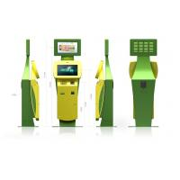 Buy cheap Multifunction Bill, Credit card payment, Cell Phone Charging Free Standing Kiosk from wholesalers