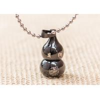 Buy cheap Lucky Cucurbit Buddhist Symbol Necklace Gourd Pendant Chinese Styles product