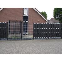 Buy cheap Eco - Friendly Composite Wood Fence Panels , Walnut / Red Plastic Wood Fence from wholesalers