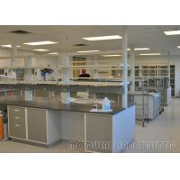 Buy cheap High Grade PP Sink Electronics Lab Furniture , Powder Coating Science Lab Storage Cabinets from wholesalers