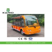 Buy cheap Battery Powered Electric Sightseeing Car with 14 Seats Excellent Cruising Ability product