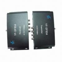 Buy cheap 4-channel Video Multiplexers with Data , Ideal for Monitoring System Camera from wholesalers