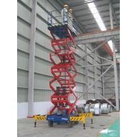 Buy cheap 1000Kg mobile elevated work platform 6m industrial Extension scissor from wholesalers