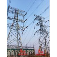 Buy cheap 220KV DOUBLE CIRCUIT DRUM TYPE TRANSMISSION LINE TENSION TOWER from wholesalers