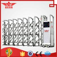 Buy cheap Single track motor operated swing stainless steel gate--J1430 from wholesalers