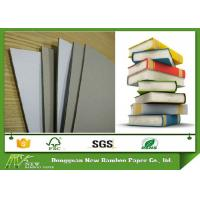 Buy cheap Laminated Duplex Paper Board Grey Back Book Binding Cover Board 0.49mm - 4mm from wholesalers