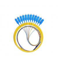 Buy cheap 12 Cores Fan Out Fiber Optic Pigtail Waterproof , SC PC Pigtail For Couples from wholesalers