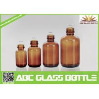 Quality European 100ml Amber Glass Bottle For Pharmaceutical for sale