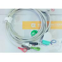 Buy cheap Gray Color GE One Piece Ecg Patient Cable For Patient Monitoring Devices from wholesalers