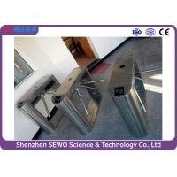 Buy cheap Semi automatic Electronic Tripod Turnstile Gate with access control system from wholesalers