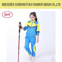 Buy cheap Anti-Shrink Students School Uniforms Children Track Suit Colored Jacket / Pants from wholesalers