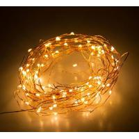 Buy cheap 10M / 10 Micro LEDs Battery Powered  Long Ultra Thin Copper Wire String Light, Decor Rope Light with Remote Control from Wholesalers