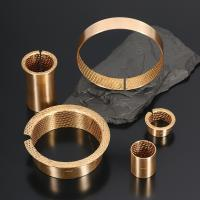 Buy cheap Excellet mechnical properties composite bearing with different shapes and coating material from wholesalers