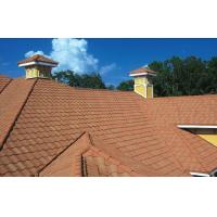 Buy cheap High Performance Wave / Double Roman Roofing Tiles For Decoration from wholesalers