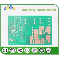 Buy cheap PCB electronic circuit board fr-4 glass plate 94V0 single-sided flame retardant cardboard from wholesalers