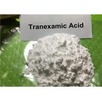 Buy cheap 99% Antifibrinolytic & Whitening Pharmaceutical Raw Material Tranexamic Acid CAS: 1197-18-8 from wholesalers