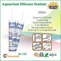 Buy cheap 300ml Waterproof Silicone Sealant / Heat Resistance Silicone Adhesive For Glass from wholesalers