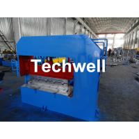 Buy cheap Hydraulic Arch Roof Bending Machine , Roofing Sheet Making Machine High Speed from wholesalers