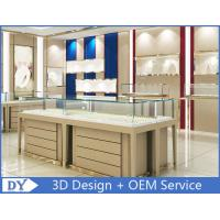 Buy cheap High End Store Jewelry Display Cases , Wood Gold Shop Jewelry Showroom Furniture from wholesalers