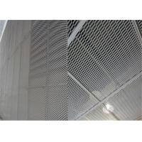Buy cheap Customized Expanded Metal Mesh , Decorative Wire Mesh Panels Square Shape from wholesalers