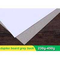 Buy cheap 250gsm Duplex Paper Board Sheets For Printing Industry 787 * 1092mm from wholesalers