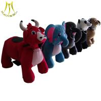 Buy cheap Hansel funfair kids ride on furry animal go karts for amusement park from wholesalers