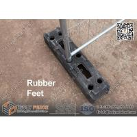 Buy cheap 18KGS Recycled Rubber Block Feet for Temporary Fencing| China Supplier from wholesalers
