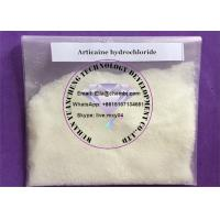 Buy cheap Topical anesthetic drugs Articaine HCL dosage efffect for pain killer from wholesalers