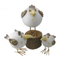 Buy cheap Handcrafted Garden Sculptures And Ornaments , Chicken Garden Ornaments from wholesalers