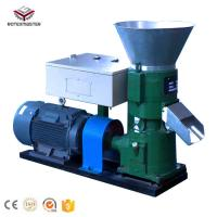 Buy cheap Rotex Master 11kw 500kg/h Flat Die Feed Pellet Mills/Feed Processing Machine for Animal Pellets from wholesalers