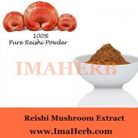 Buy cheap Organic and GMP whole sale reishi mushroom extract powder with polysaccharide 30% Wholesale from wholesalers