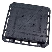 Buy cheap Double Triangle Pattern Non-Rock Design  Ductile Iron Manhole Cover from wholesalers