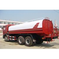 Buy cheap Sinotruk ISO CCC Liquid Tanker Truck , Water Truck Tanks Green Water Carrying 15 - 25CBM from wholesalers