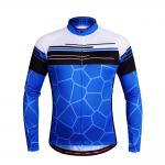 Buy cheap Guangdong Shaxi Manufacturer Custom bike clothing long sleeve cycling jersey from wholesalers
