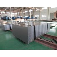 Edge Cutted 1100mm Wide Cold Rolled Sheet Steel , Flat Steel Sheets With Dull Surface