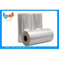 Buy cheap 45mic Thermal Heat  PVC Shrink Film Rolls , Pvc Shrink Wrap Film For Plastic Bottle Label from wholesalers