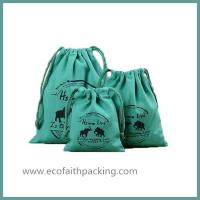 Buy cheap Cotton Linen Drawstring Bags Cotton Organizer Drawstring Bag Cotton storage bag from wholesalers
