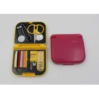 Buy cheap Custom Professional Mini Sewing Kit Items With Comb / Emergency Sewing Kit from wholesalers