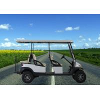 Buy cheap Led Lights 6 Passenger Electric Golf Cart , Club Car Street Legal Golf Carts from wholesalers