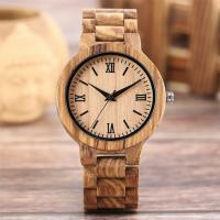 Buy cheap Personalized Genuine Leather Wooden Quartz Watch Winder Wood With Engraved Logo from wholesalers