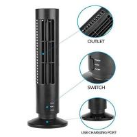 Buy cheap Creative Household Mini Tower Fan , USB Tower Desk Fan With Manual And Remote Control from wholesalers