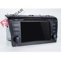 Buy cheap Mazda 3 Touch Screen Head Unit , Wifi Modem Android Gps Car Stereo With Mirrorlink Technology product