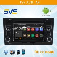 Buy cheap Android 4.4.4 car dvd player for Audi A4 car radio gps navigation system with bluetooth from wholesalers
