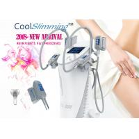 Buy cheap 4 Handles Cryo Fat Freezing Machine Equipped With Self Cleaning System from wholesalers