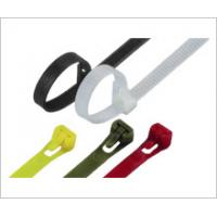 Buy cheap Colorful Nylon Releasable Industrial Cable Ties For Packing Power Cables from wholesalers