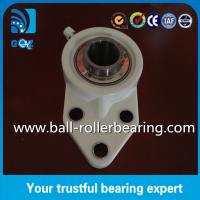 Buy cheap UCFB205 Three Bolt Pillar Block Bearing With Flange , Pillow Block Linear Bearings from wholesalers
