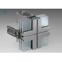 Buy cheap Exposed - Frame Aluminium Curtain Wall Thermal Break Insulation Systems from wholesalers