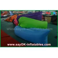 Buy cheap Nylon Fabric Inflatable Sleeping Bag Lazy Air Couch for Outdoor from wholesalers